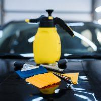 Druku darba process auto aplimesana